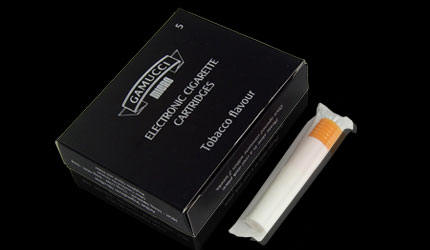 Electronic cigarette refill cartridges